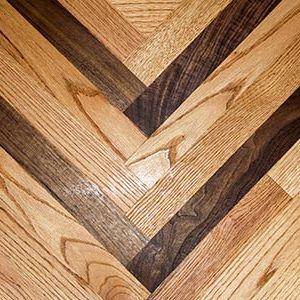 Custom Floor Border Installation Services by Ryno Custom Flooring Inc