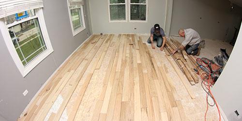 Hardwood Floor Installation by Ryno Custom Flooring Inc.