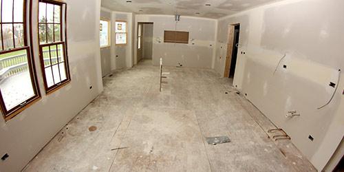 Prepping Sub-flooring for Installation by Ryno Custom Flooring Inc.