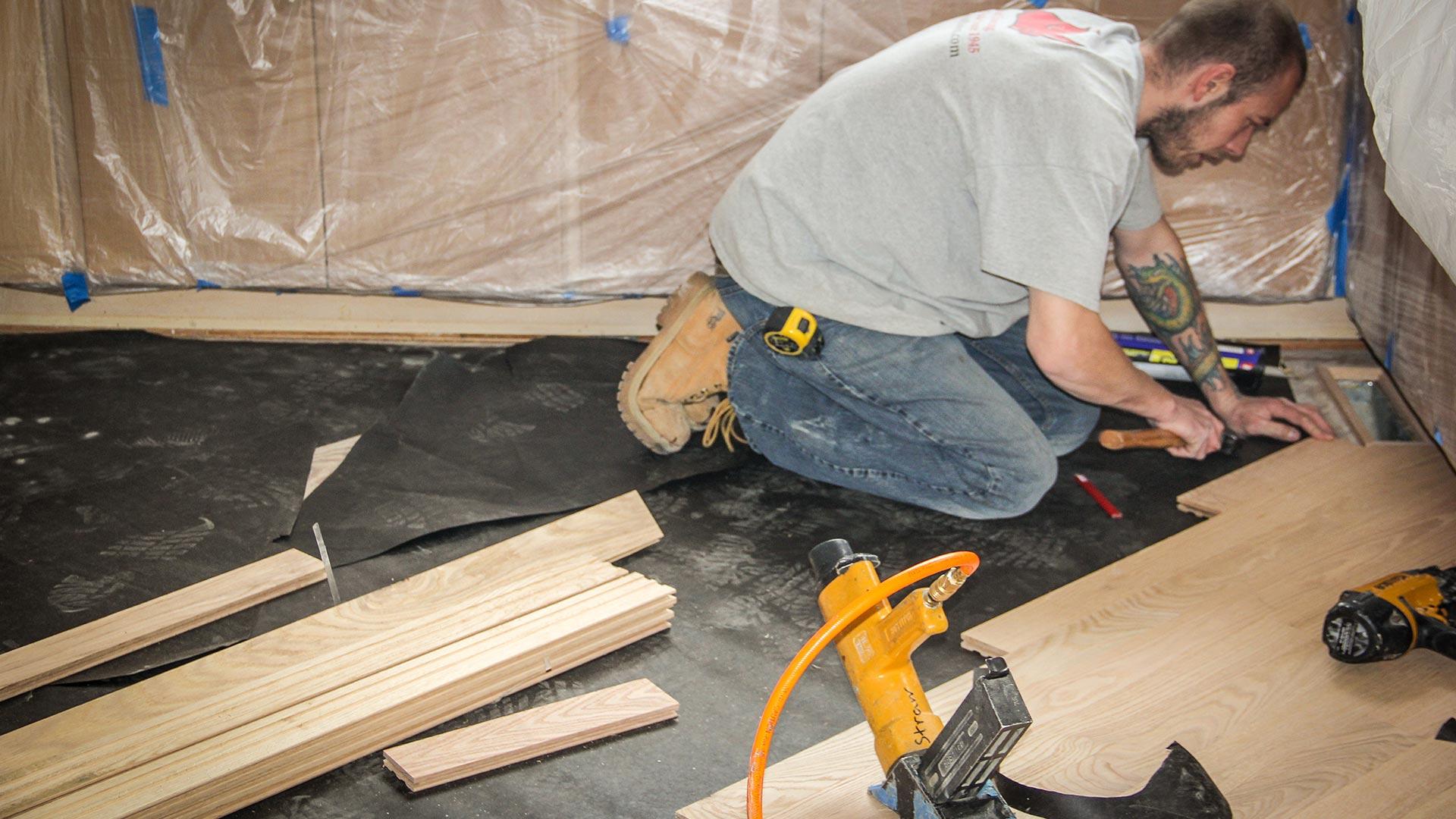 Floor Installation Services By Ryno Custom Flooring Inc