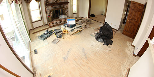 Floor Tear-out & Disposal Services by Ryno Custom Flooring Inc.