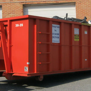 Garbage Dumpster Services by Ryno Custom Flooring Inc.