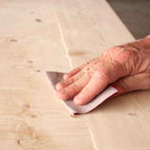 Stair Refinishing Hand Sanding by Ryno Custom Flooring Inc.