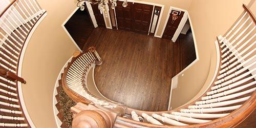 Stair Refinishing by Ryno Custom Flooring Inc.