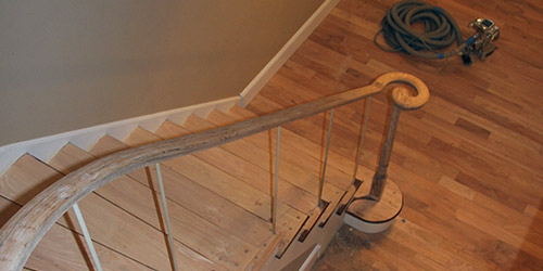 ... Stair Refinishing By Ryno Custom Flooring Inc. ...