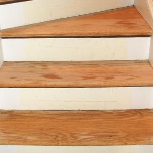 Stair Refinishing Stair Sanding by Ryno Custom Flooring Inc.