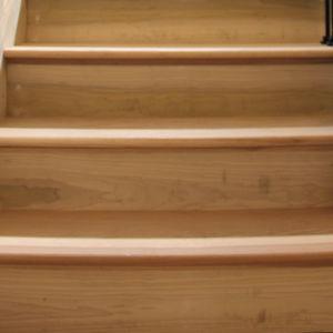 Stair Riser Installation by Ryno Custom Flooring Inc.