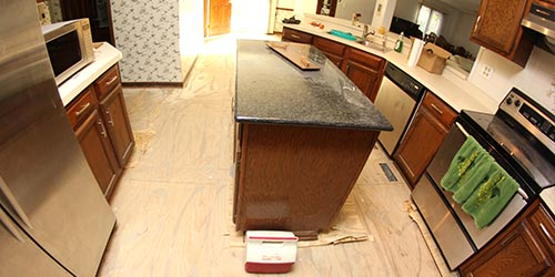 Tile Tear-out & Disposal Services by Ryno Custom Flooring Inc.