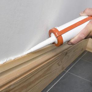 Wall Floor Trim Caulking by Ryno Custom Flooring Inc.