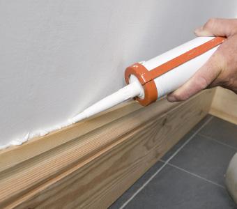 Wall Floor Trim Caulking By Ryno Custom Flooring Inc