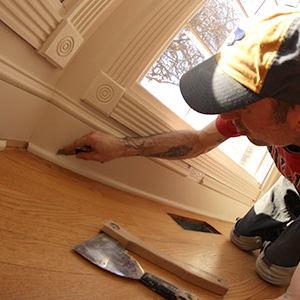 Wall & Floor Trim Removal Services by Ryno Custom Flooring Inc.