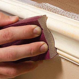 Wall Floor Trim Sanding by Ryno Custom Flooring Inc.
