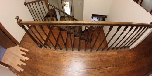 Board Replacement Wood Floor Repairs by Ryno Custom Flooring Inc.