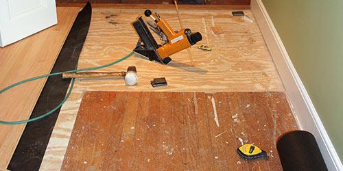 Wood Floor Repairs by Ryno Custom Flooring Inc.