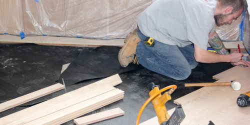 [Jin Luu - Kitchen - Install] Floor Installation in Bartlett, IL by Ryno Custom Flooring Inc.